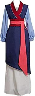 Princess Costume Adult Women, Deluxe Halloween Cosplay Outfit Fancy Dress