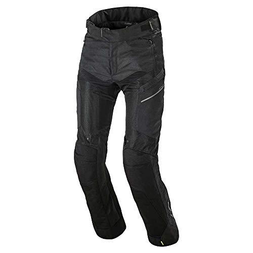 Macna Nuclone Motorrad Zip Hoodie Schwarz XL