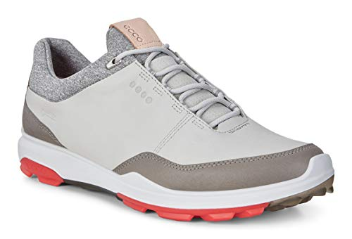 Ecco Golf Biom Hybrid 3 Größe 48 Weiß (Concrete/Scarlet)