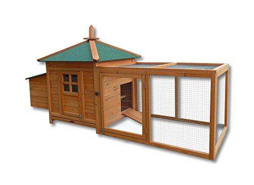 Gabbia per roditori e lepri Pollaio Stalla per piccoli animali Nido Recinto esterno