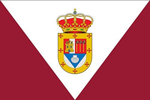 magFlags Bandera Large Valdeconcha, Guadalajara, España | Bandera Paisaje | 1.35m² | 90x150cm
