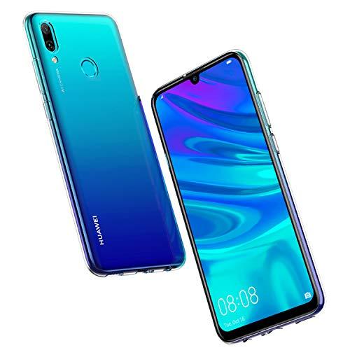 NEW'C Cover Compatibile con Huawei P Smart 2019, Honor 10 Lite, Custodia Gel Trasparente Morbida Silicone Sottile TPU [Ultra Leggera e Chiaro]