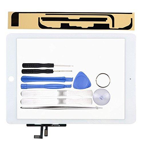 LL TRADER Pantalla para iPad Air 1/iPad 5 Blanco, Reemplazo de Táctil Screen Digitalizador de Frontal de Vidrio y Herramintas