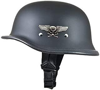 Daytona German Novelty Helmet W/Skull and Cross Bones (XXL)