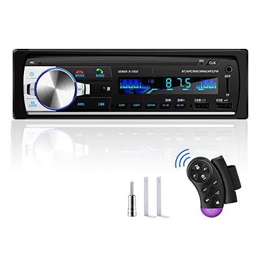 RDS Autoradio Bluetooth, CENXINY Autoradio con Vivavoce Bluetooth Chiamate in vivavoce Telecomando Radio FM 4x65W Autoradio con lettore MP3 USB e Bluetooth 4.2, supporto telefono iOS e Android