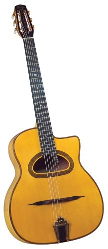 Gitane DG-370 Saga Signature Modell Dorado Schmitt Gitarre (D-förmiges Schalloch)