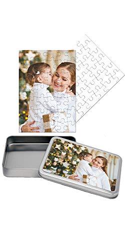 Puzzle Personalizzato con Foto Inclusa Scatola Regalo Personalizzata Puzzle 20x30 cm. 42 Tasselli