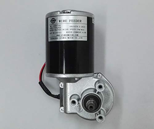 Mig Welder Wire Drive Feed High Speed Motor 24V DC 4A 80W 24m/min 260RPM