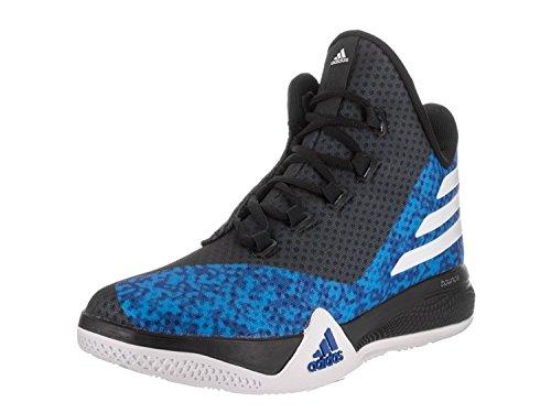 adidas Light Em Up 2.0 Mens Basketball Shoe 12 Royal/White/Black