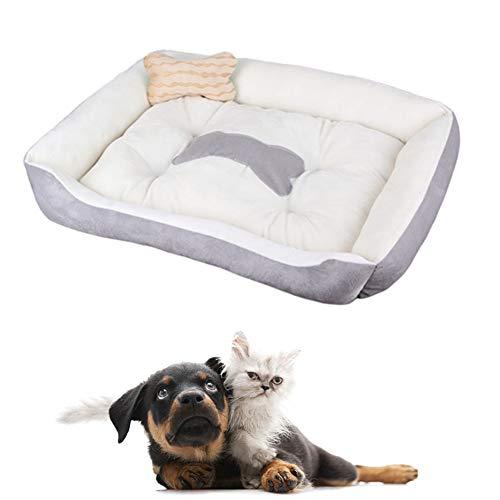 Huisdier Bed Kleine Hond Bed Luxe Hond Bed Kat Cave Kitten Bed Pluizige Hond Bed Hond Slaapbank Huisdier Nest Goedkope Hond Bedden Hond Kussen beige,l