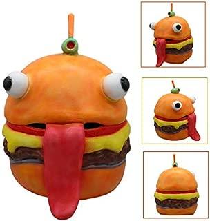 Hamburger Mask Beef Boss Mask Food Mascot Drift Mask Halloween Cosplay Restaurant Party Supplies Vegetables Accessories