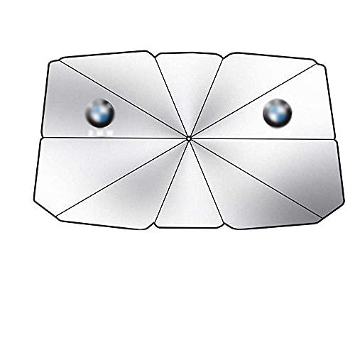 BEKwe Cubierta de la sombrilla del Parasol del Parasol del Parasol del Frente del Coche, para BMW 5 Series 3/1/2/4 / X1X3 / X5X6X4