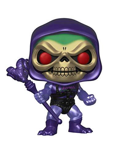 FUNKO - Masters of The Universe-Series 2-Skeletor with Battle Armor Exclusive (Metallic) Figur, Mehrfarbig, 34927