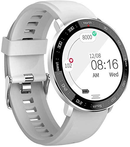 Smartwatches IP67 Pantalla táctil a Color a Prueba de Agua Pulsera Deportiva con Monitor de frecuencia cardíaca Contador de calorías Podómetro Cronómetro de Pasos para Android iOS Hombres Mujeres
