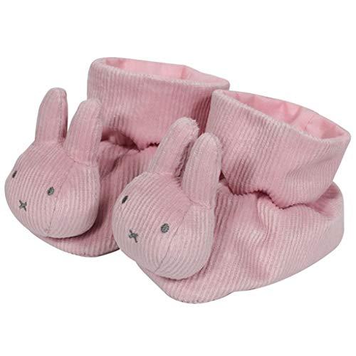 Tiamo NIJN605 Miffy Hase Cord Baby Hausschuhe Pantoffeln rosa onesize 8x6x12 cm