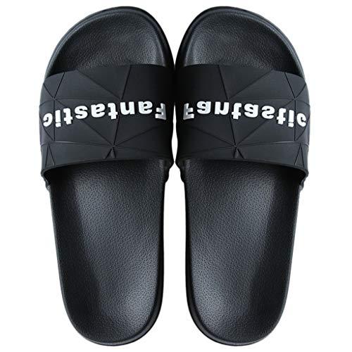 Zapatillas para Ducha Sandalias de baño para hombres y mujeres Zapatillas de casa Zapatos Parte inferior suave antideslizante Zapatillas de verano con parte inferior gruesa Adecuado para la ducha case