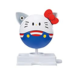 This kit is easy to build not requiring paint, glue or even tools to remove the plastic Hello Kitty x Gundam Collaboration!