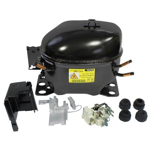ACC SECOP Motor Kompressor hmk12aa hmq12aa–für R600a 198W CC 11.20HP 1/4