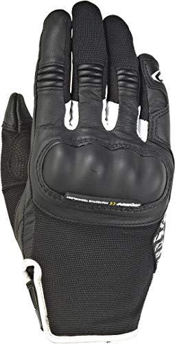 Ixon RS Grip 2 Lady - Guantes de Moto (Talla M), Color Negro y Blanco