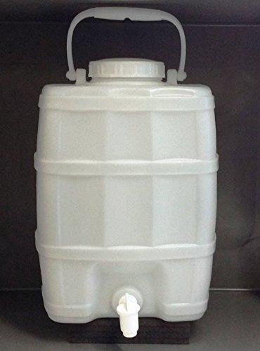Plasticos Helguefer Bidon renforcé avec robinet 20 l