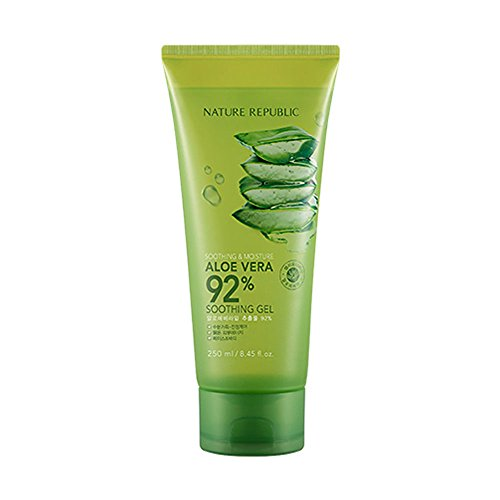 Nature Republic Soothing And Moisture Aloe Vera 92% Soothing Gel (Tube) 250ml / 8.45 fl.oz.