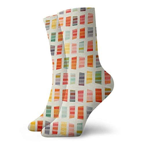 Toallas de playa Calcetines Calcetines cortos deportivos clásicos de ocio 30 cm / 11,8 pulgadas Adecuado para hombres Mujeres Calcetines de algodón casuales Calcetines deportivos Calcetines deportivos