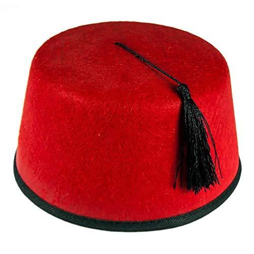 Gemz Fancy Dress Fez Hat by Gemz Fancy Dress