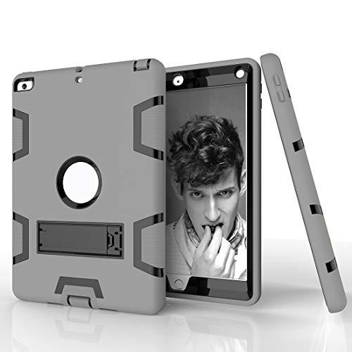 YANCAI Funda Protectora Funda Protectora híbrida híbrida de Alta Resistencia a Prueba de Golpes a Prueba de Golpes para el Nuevo iPad 9.7 2017/2018 Soporte Incorporado a Prueba de Golpes
