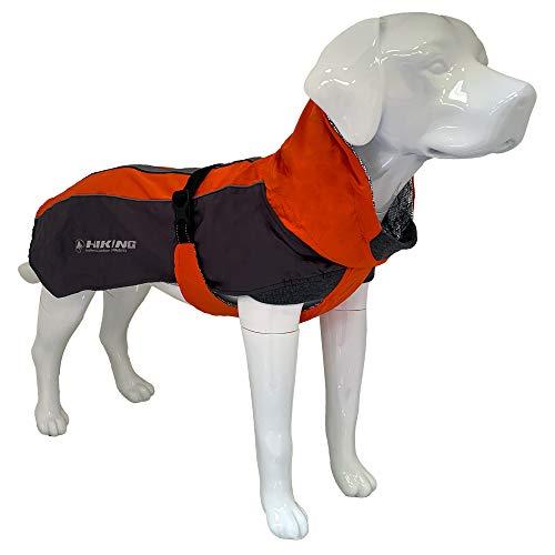 Croci Hiking Hundemantel, wasserdicht, für Hunde, Thermofutter, Fuji, Größe 45 cm – 260 g