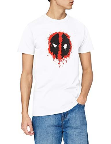 Marvel Deadpool Paint Logo Camiseta,...