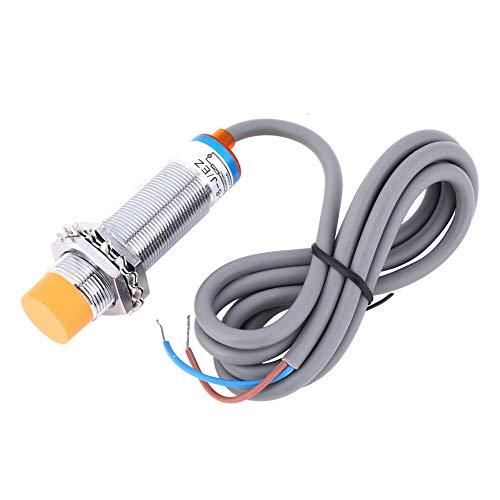 Interruptor de sensor de proximidad, sensor de tipo interruptor, proximidad inductiva -30- + 65, hecha de plástico de 2 cables de CA normalmente abierto
