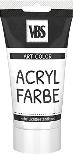 Peinture acrylique VBS, 75 ml Blanc titane