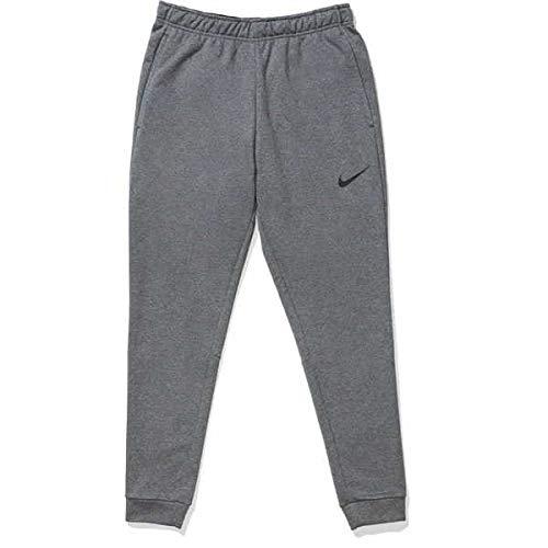 NIKE M NK DF PNT Taper FL Pantalones de compresión, dk Grey Heather/(Black), S para Hombre