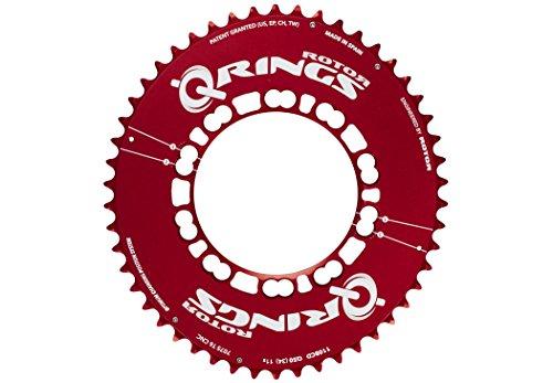 Rotor Q-Ring Aero - Platos - exterior rojo Modelo 50 dientes 2017