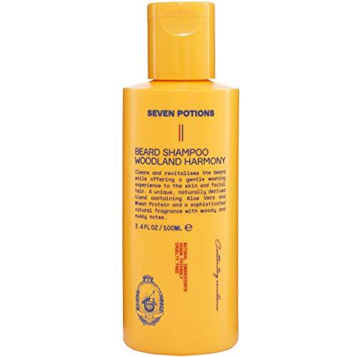 Seven Potions Beard Shampoo for Men — Gentle,...