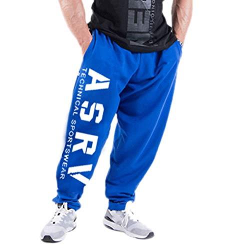 Pantalons DéContractéS pour Hommes, Sport, Taille éLastique, Gymnases D'EntraîNement Confortables, Course à Pied, Pantalon De Bodybuilding