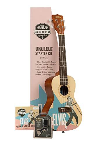 Kala Learn To Play - Anfängerset mit Ukulele Rockabilly (KALA-LTP-C-ERB)