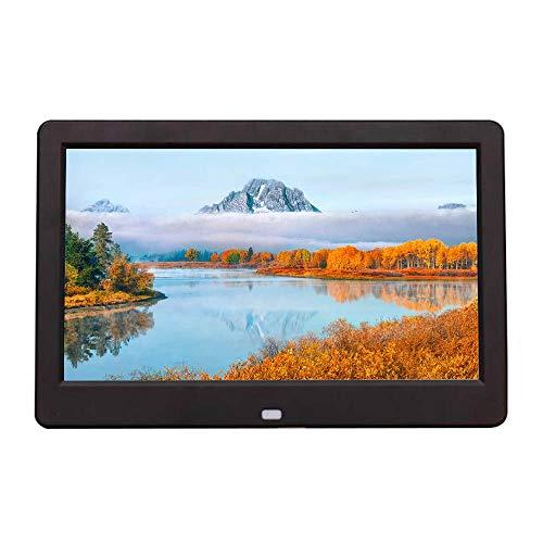 Álbum electrónico 10 Pulgadas HD LED Marco de Fotos Digital máquina de Publicidad 1024 * 600 resolución Foto/música/Video Soporte