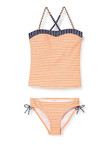 Schiesser Mädchen Tankini Badebekleidungsset, Gelb (Apricot 603), (Herstellergröße: 152)