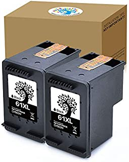 H&BO TOPMAE Remanufactured Ink Cartridges Replacement for HP 61XL Used in HP Envy 4500 5530 5534 Deskjet 1000 1512 2540 Officejet 4630 2620 4632 (2Black)