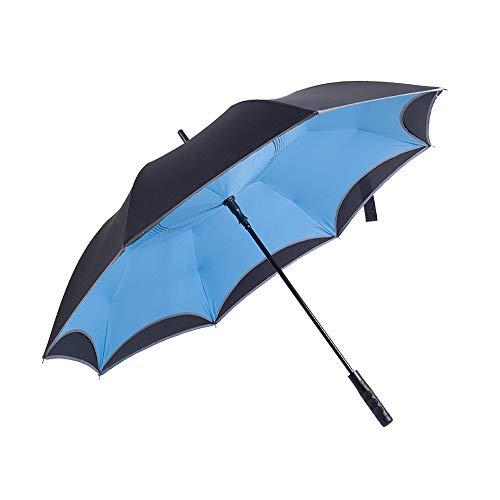 QNMP Longue poignée de Golf Parapluie Parapluie Coupe-Vent...