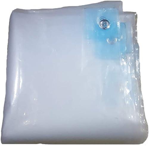 Z-P Bache en Plastique épaisse Couleur Transparente Double Face Imperméable Coupe-Vent Plante Chaude Tente Balcon Abri Vent Tissu Auvent
