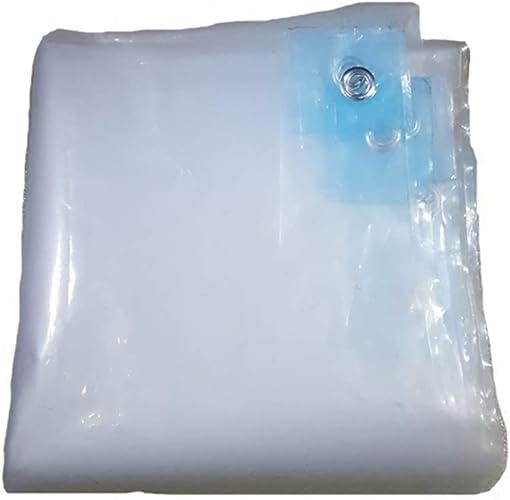 YANG HONG SHOP JL YH Isolation De Pluie Transparent Bache Plastique Double Face Imperméable à l'eau Et à La Poussière épaisse Stores De Fenêtre De Balcon PE A+ (Taille   4×12m)