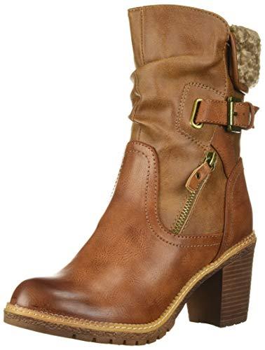 Price comparison product image ZIGI SOHO Women's ANNLIE Fashion Boot,  Tan,  8 Medium US