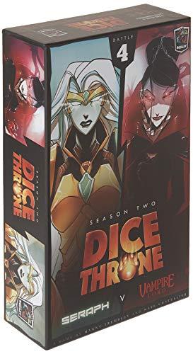 Roxley Dice Throne Season Two: Seraph VS Vampire Lord -Expansión Juego de Mesa [Inglés]