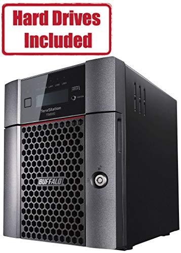 BUFFALO TeraStation 6400DN 8TB Desktop NAS Hard Drives Included + Snapshot (2 x 4TB, 4 Bay)