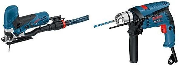 Bosch GST 90 - Sierra eléctrica (2,3 kg) + GSB 13 RE Professional - Taladro percutor (600 W, 240 V)