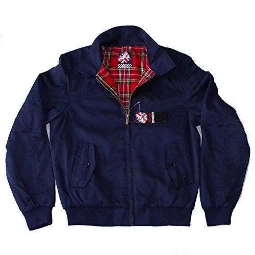 Warrior Original Clothing Harrington Jacket Navy (Small)