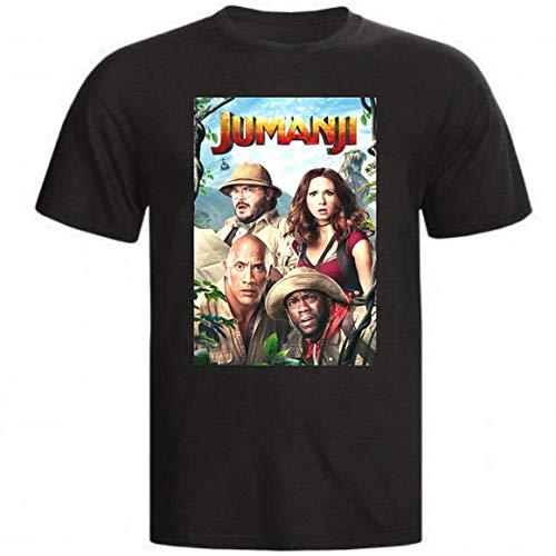 Camiseta e Babylook Jumanji infantil movie (Infantil - 10, Branco)