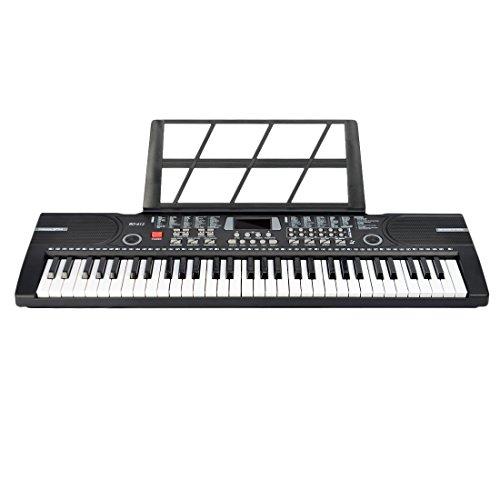 Lommer Piano Infantil, 61 Teclas Electrico Piano Keyboard con Microfono Juguetes Musicales...